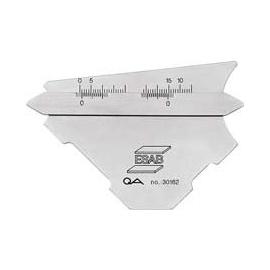 Mierka na zvary ESAB KL-1 Laser